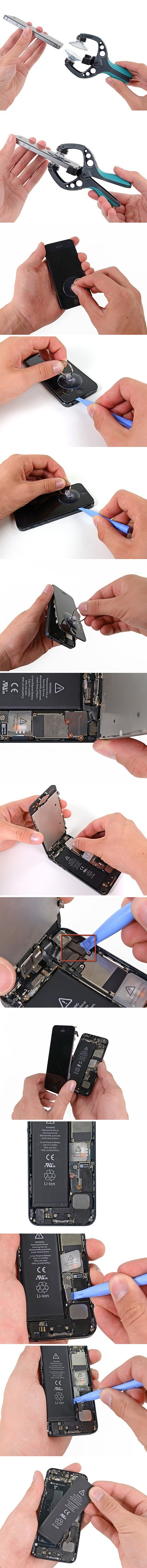 Как заменить на айфоне